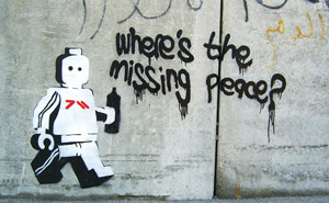 Where is the missing peace?