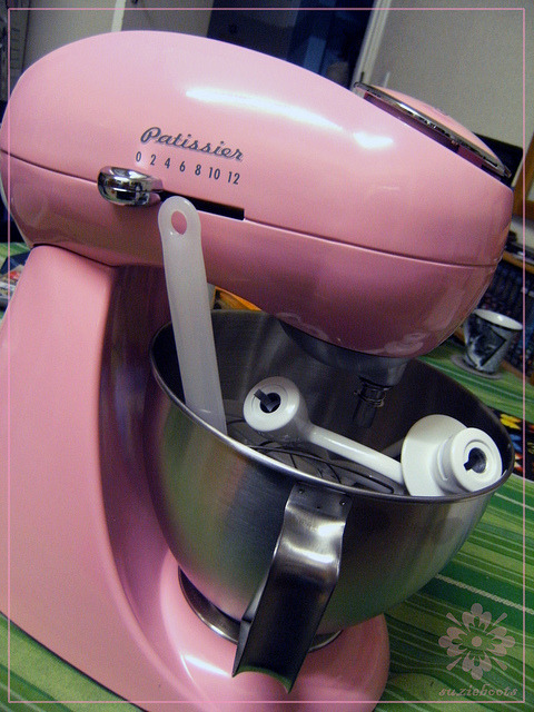 My mixer!!!!!! by Suzieboots on Flickr.