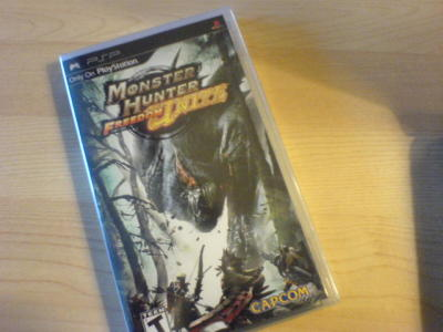Monster Hunter Freedom Unite! -forever playing-GameStop hides them in a box in the back, but we were able to get two copies today ;P