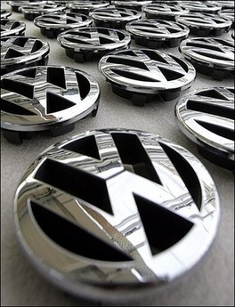 A fender-bender freed the VW emblem from the front grille of my Volkswagen Jetta— a new one comes with my new grille, so now I have to figure out what to do with the old emblem!  I love my Volkswagen and would love to make a handy object or fun decoration out of the old emblem— help me enter the world of upcycling DIY and give me a suggestion for how to use it! So here's how the game is played:  There are multiple ways to win!  I will be giving away a custom-dyed skein of yarn in colors of your choice to the winner of the drawing.  You can also win 25% off discount codes to my Etsy shop if you submit one of my favorite ideas! Describe your ideas in a comment on this post.  This gives you one entry into the drawing.  (Please note that each individual may only receive one entry for their ideas, regardless of how many ideas you submit!  But please, suggest away— the more ideas, the merrier) Repost this blog entry on your blog, facebook, a forum, etc— post a link to each site you share, in the comments section.  Each share will give you another entry into the drawing!  My favorite couple of ideas (as well as the blog or Etsy shop of their imagineer) will get featured in a future blogpost (yay free promotion)!  These favorites will also receive a 25% off discount code for any one item in my Etsy shop! We'll keep this going until I've received at least 30 ideas!  At that point, it's drawing time! The emblem is about five or six inches across, two or three inches deep, and has a slightly convex surface.  (Please note that convex means it bulges outwards slightly and isn't flat!  It isn't possible to place flat bottomed objects on top of it, say a potted plant, without them tipping or sliding off)! Post any questions as a comment, or email me at flatbranchfibers@gmail.com