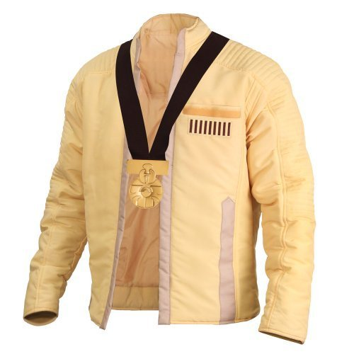 "Officially licensed ""Star Wars"" Luke Skywalker ceremonial jacket with Medal of Yavin replica — Jedi steez."