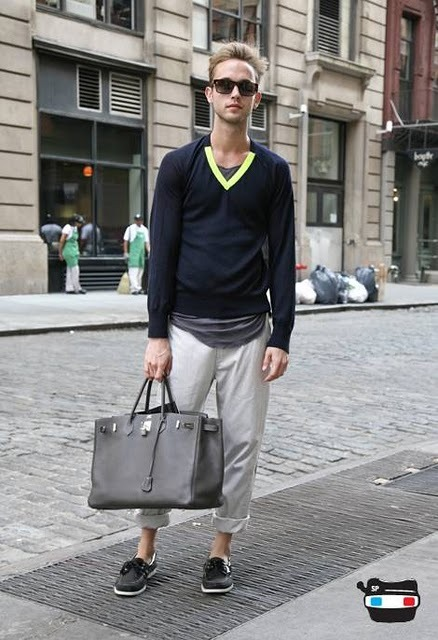 Boys can wear Birkins, too!