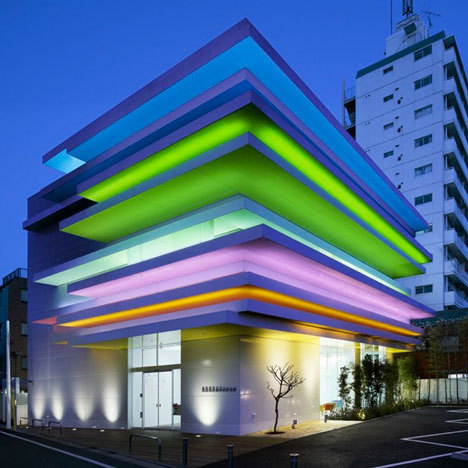 cabbagerose:  sugamo shinkin bank/emmanuelle moureaux via: dezeen