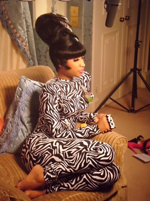 #nicki minaj, now that girl can rock a wig!