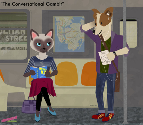 hipster-animals: The Conversational Gambit