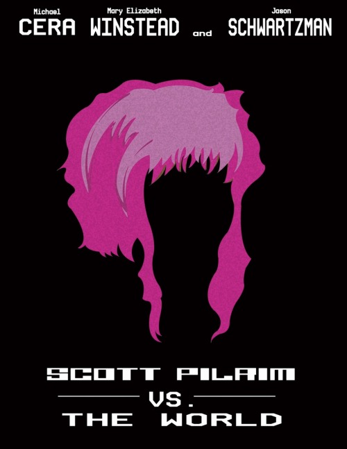 Scott Pilgrim vs. The World by Victoria D'Espo