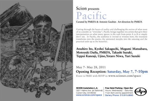 RSVP for the opening here: www.scionav.com/space