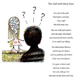 """The Girl with Many Eyes"" from The Melancholy Death of Oyster Boy & Other Stories By Tim Burton"