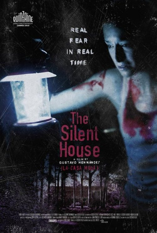 newfilm:  The Silent House Elizabeth Olsen, Adam Trese, Eric Sheffer Stevens, Julia Taylor Ross Genre: Drama, Horror, Art House & International, Mystery & Suspense  Synopsis: Laura (Florencia Colucci) and her father Wilson (Gustavo Alonso) settle down in a cottage they have to fix up since its owner will soon put the house up for sale. They will spend the night there and start repairs the following morning. Everything seems to go smoothly until Laura hears a sound that comes from outside and gets louder and louder on the upper floor of the house. Wilson goes up to see what is going on while she remains downstairs on her own, waiting for her father to come down. —(c) ifc Rated: Unrated    Running Time: 1 hr. 26 min. In Theaters: May 6, 2011 Limited Distributor:IFC Midnight Directed By: Gustavo Hernández , Chris Kentis  Written By: Oscar Estévez, Gustavo Hernández, Gustavo Rojo