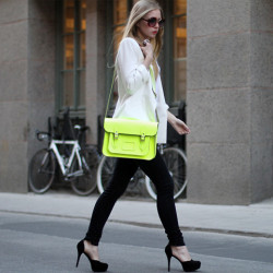 standingbetween:  /neon purse