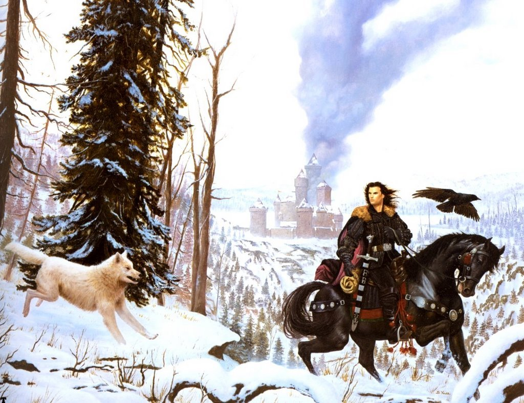 "Top 10 Best Literary Fantasy Books #4 A Game of Thrones (A song of ice and fire) People will argue that Martin's quality has gone down in the fourth  book or that he's taking too long to finish the series. Some will argue  the series is to bloody, too brutal, etc. It doesn't matter. A Song of Ice and Fire is THE fantasy series of our  age. It's influenced countless other books and has started an entire  genre of subfantasy (""the gritty fantasy""), or if not started, than at  least popularized. If you want a fantasy series that follows all the  standard cliches — heroes who never die, villains who are two  dimensional, wise cracking sidekicks, deus ex machina — then read  something else. If you want a fantasy series that' brutal, unforgiving,  and totally unpredictable, A Song of Ice and Fire can't be beaten."