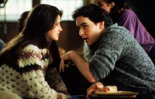 asmallgoodthing:  John Cusack, Daphne Zuniga The Sure Thing (1985) dir. Rob Reiner