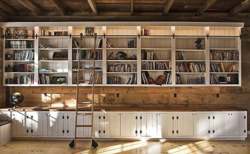 Lofty Dreams - who doesn't want an excuse to have a library ladder?