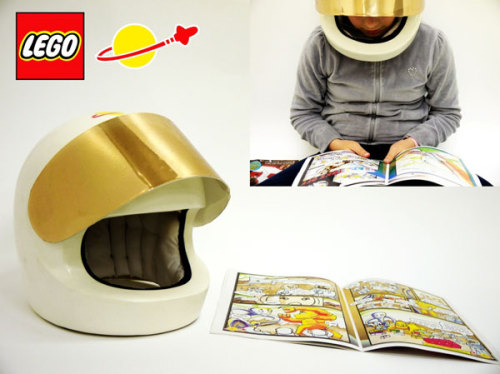 A Lego helmet  - Jonathan Robson via Lost at E Minor