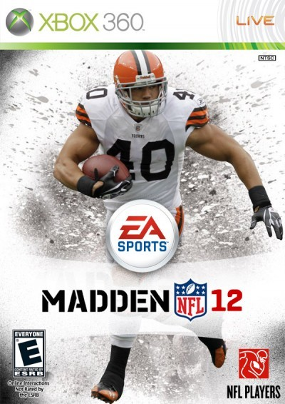 positivelypersistentteach:  kay021:  freethrows:  Shouts to Peyton Hillis for becoming the Madden 12 cover boy. Much deserving. He did WORK for my, and many others', fantasy football squads this past season. And as an Eagles' fan, nothing could have scared me more than Michael Vick being on the cover.    My love is on the cover…..no big deal ;)  Woohoo! Go Browns!