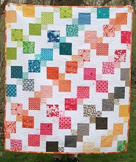 Delicious. Kaleidoscopic Kites Quilt by Faith, an original design featured on her blog. Free pattern available from her site.