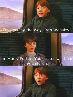 When Ron meet Harry