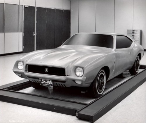 AMC Concept (via Jav-olution: the Seventies Javelin that never was)