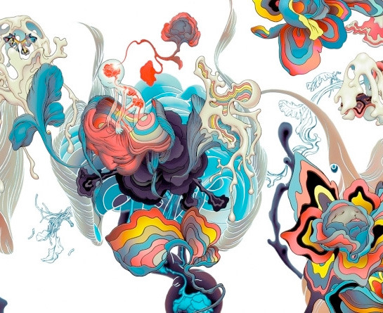 curioos-arts:  James Jean (USA) - Portfolio via ChangeTheThought