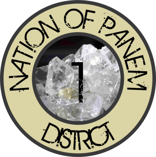 herlastwalks:  The Nation of Panem: Seal of District 1 (by: rjvg92)