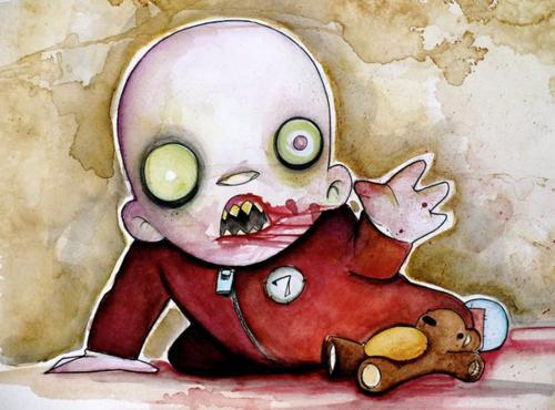 Zombie Baby   by Christopher Uminga