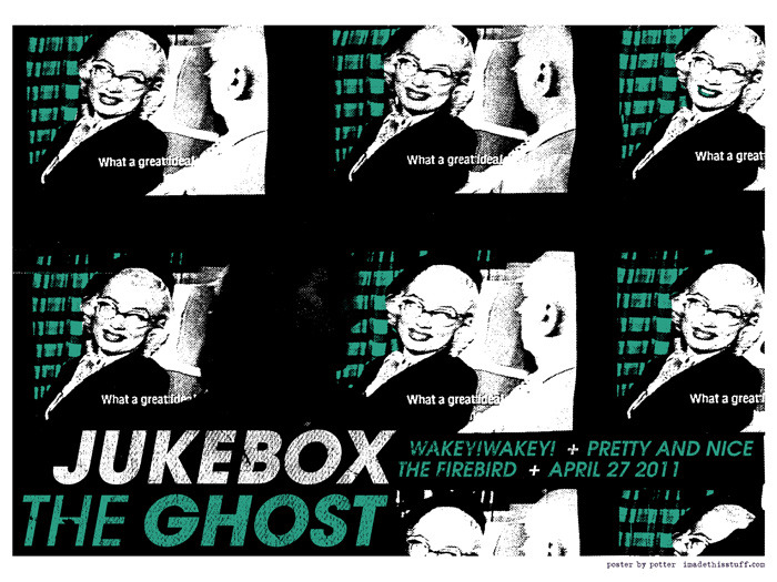 New poster: for Jukebox The Ghost