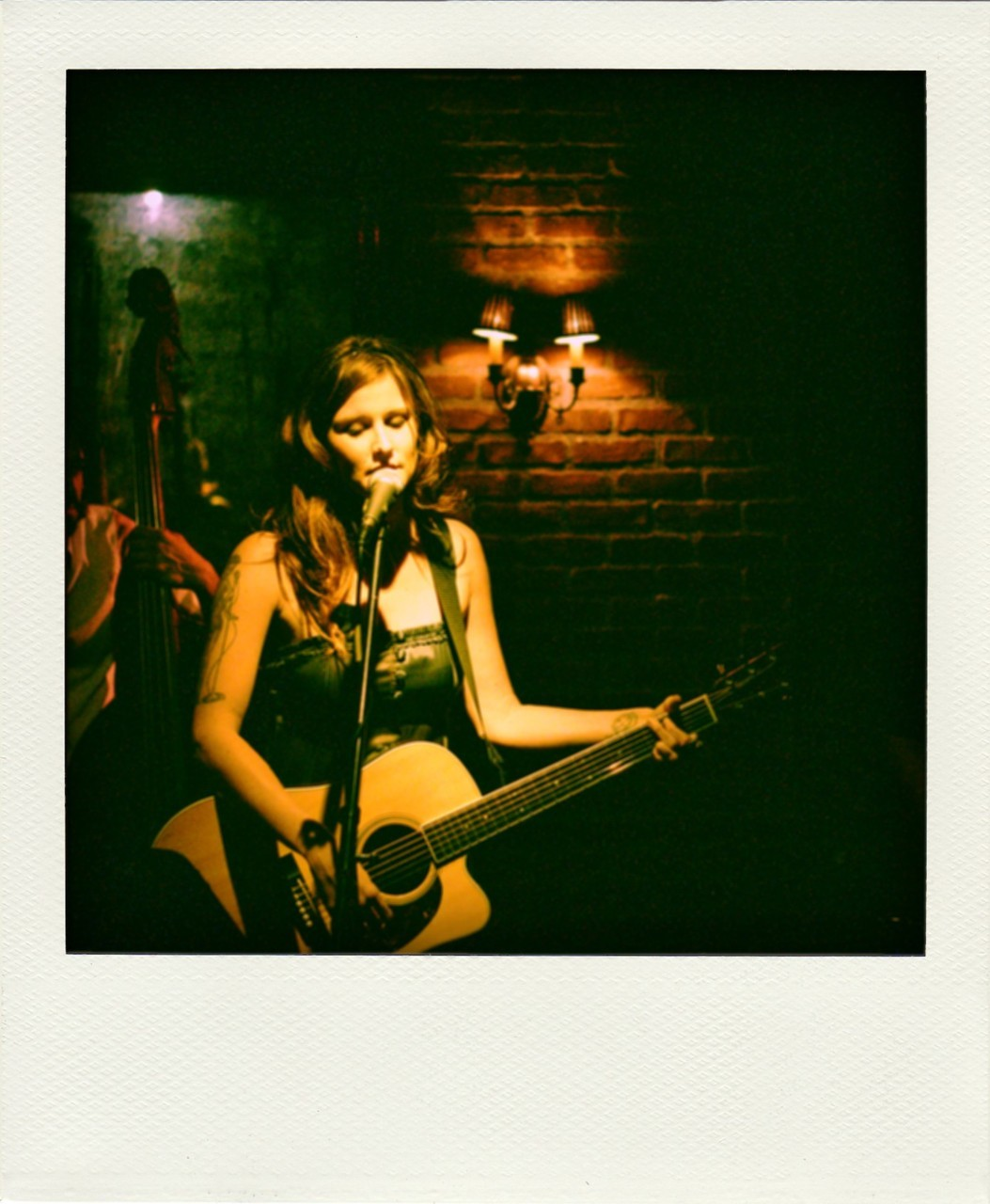 Brianna Rettig at Piano Bar playing a birthday show