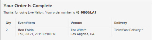 Hellsyeah… first time checking out reserved Loge seating at the Wiltern!