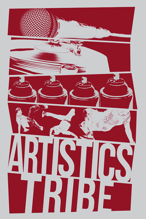 Artistics Tribe shirt design, we're gonna actually make these shirts :)