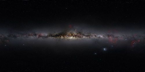 nprfreshair:    This stunning 360 degree panorama of the night sky was stitched together from 37,000 images by a first-time astrophotographer.