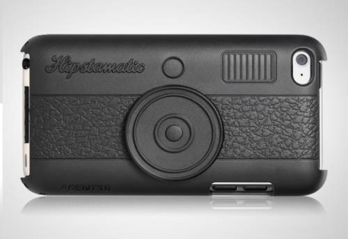photojojo:  Hipstamatic released this neato iPhone/iPod case that looks like a retro 80s camera. (zomg, is 80s retro already??) Hipstacase 100 - The Hipstamatic iPhone/iPod Case   WANT. If only they made one for the 3GS. (iPod touch is pictured.) I guess that clinches it: I'll have to upgrade to the iPhone 4 now.
