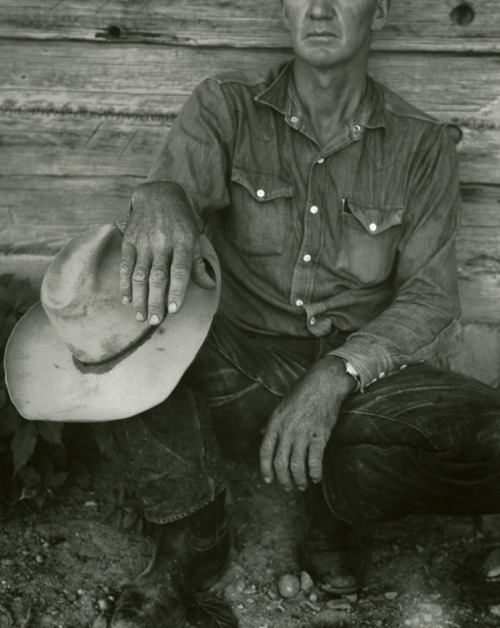 Dorothea Lange - 'Jake Jones' Hands, Gunlock, Utah', 1953via