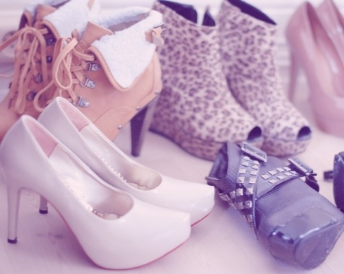 An assortment of heels.