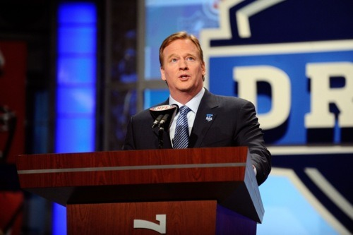 Roger Goodell NFL Draft Eagles Predictions