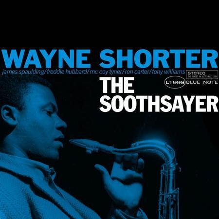 atane:  The Music Matters cover of the upcoming 45rpm pressing of Wayne Shorter's 'The Soothsayer'.