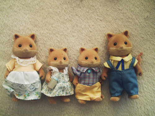 Sylvanian Fox Family Courtesy of Alexa2009