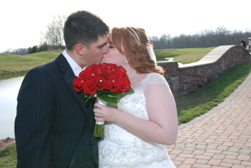 The most amazing day of my life. The day I married my best friend. I love being his wife, this day was a long time coming. I love my husband more than anything. <3