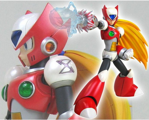 Photos for the upcoming D-Arts Zero (Rockman X ver.) released Release date: August 2011 – Price: 3,675 Yen photos from gunjap's blog