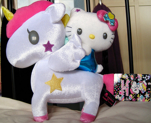 Hello Kitty x Tokidoki Unicorno Plush (by Taliebum)
