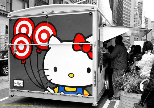 Sanrio x Target Small Gift Mobile Tour in New York
