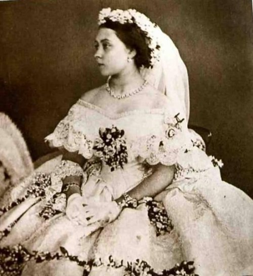 1858 Princess Royal Victoria's wedding