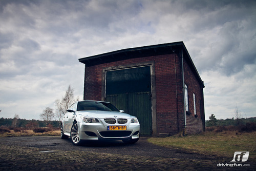 wellisnthatnice:  BMW M5 Front - *explored* by MartijnKoevoets on Flickr.