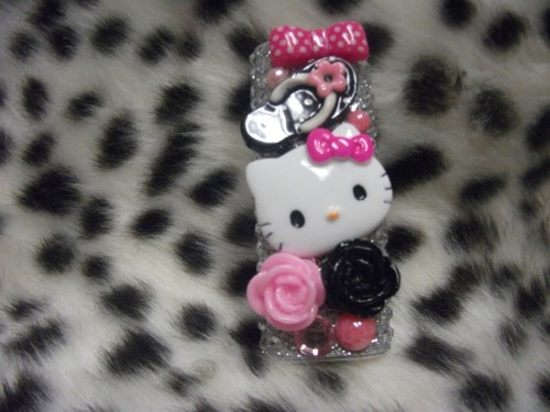Hello Kitty Deco-Den Lighter Case by BlingaciousDesigns