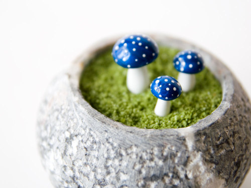 (via 3 Small extra small Toadstools for Your Tiny by LittleThingsForYou)