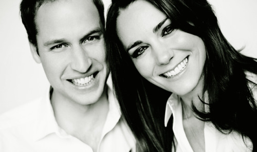 Prince William and Kate Middleton Photographer:  Mario Testino