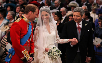 nationalpost:  Prince William and Kate Middleton pictured at the alter in Westminster Abbey. Inside the Royal CeremonyA look at the festivities inside Westminster Abbey.Our live coverageJoin the Post's fascinator-clad team of editors and reporters offers up a regal assortment of royal wedding live commentary, photos, ceremonial play-by-play and reaction from London and beyond.