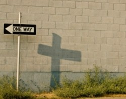 """One way! Jesus! You're the only one that I will live for."""
