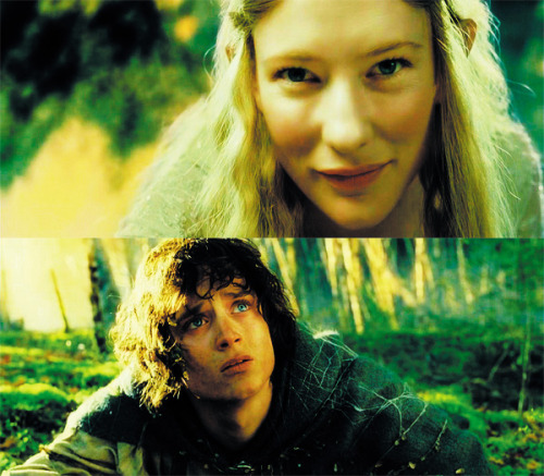 "Galadriel : ""This task was appointed to you, Frodo of the Shire. If you do not find a way, no one will."""