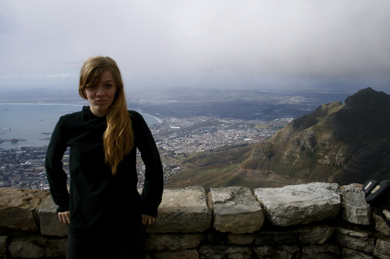 I hiked Table Mountain, folks. And I will never again do this. It was beautiful at the top! But it was such a hard hike…especially for myself, in all my un-athletic glory. I noticed that people sure like to give advice. It's always those super intense hikers with their Camelbaks and neon colored shoes. Oh don't sit!! No no no, do this, watch me. You get up one step and breathe deeply. Then the next. KEEP GOING! And this is me. Thanks! *still sitting* Another guy took it upon himself to yell instructions at Micah and I for about ten minutes on his way down the mountain. I'm not exaggerating. He kept telling us to stop and breathe ten times and then keep going. And he wouldn't let us keep going at our own pace. It was quite humorous.