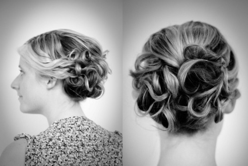 Wedding updo/makeup idea with the gorgeous Sally!!